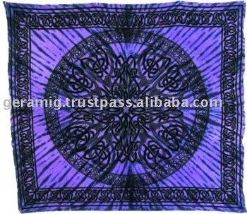 Celtic Design Cotton Bed cover. Celtic Design Cotton Bed Cover   Buy Indian Cotton Bed Cover Fancy