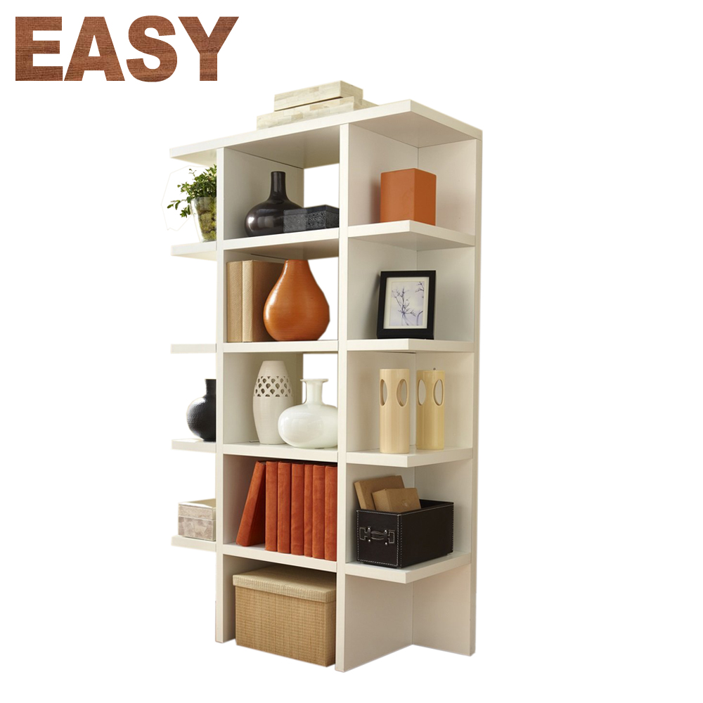 Customized Tall Boy Bookshelf Showcase Storage Bookcase Design