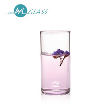 wholesale glass vase glass cup 300ml handmade high borosilicate glassware ZB321