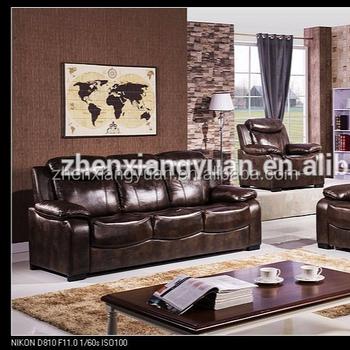 Amerikaanse Leren Bank.2018 Nieuwe Ontwerp Amerikaanse Banken Antieke Air Lederen Grote Verkoop Bankstel Buy Houten Sofa Set Ontwerpen Goedkope Air Leather Sofa Set