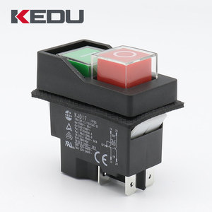KEDU High Quality Three Phase Electromagnetic Switch With CE,UL,VDE,TUV Approved KJD17