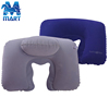 Inflatable pvc Square shaped headrest travel neck pillow