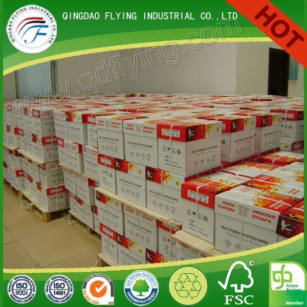 Highest GRADE A Super White best quality a4 Copy Paper 80 gsm