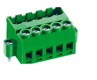 free samples deca pcb 5.08mm pitch 2/3/4/5/6/7/8/9/10/ pin plug-in terminal block connector
