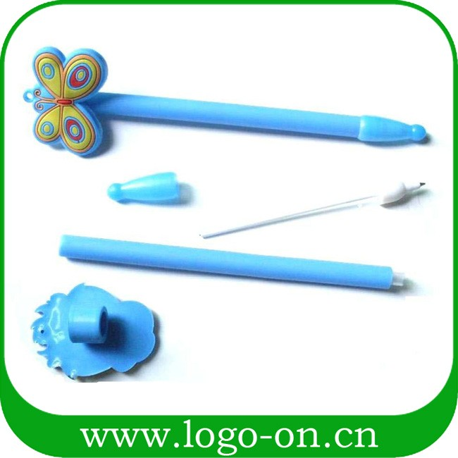 3D custom soft pvc pencil toppers