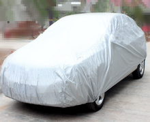 (BT 6005) 170 T Polyester Taffeta <span class=keywords><strong>Zilveren</strong></span> Coating Car Covers