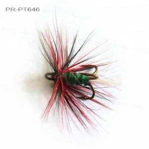 Fly Tying Tools PR-PT646 Colorful Handmade Dry Wet Fishing Lures