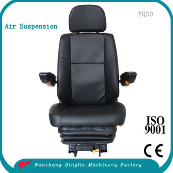 yq30 adjustable air suspension truck seat buy air. Black Bedroom Furniture Sets. Home Design Ideas