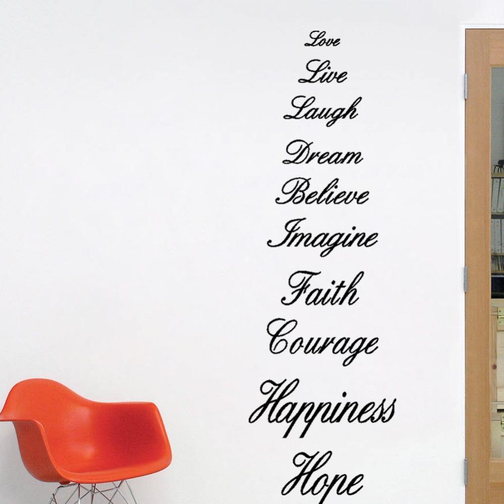 Live Laugh Love Dream Quotes: Love Live Laugh Dream Believe Imagine Faith Courage
