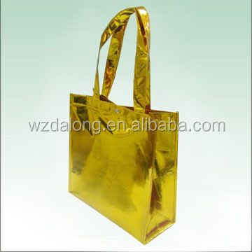 Promotional Cheap Customized <strong>Eco</strong> Fabric Tote Non-Woven Shopping Bag, Recyclable Non Woven Bags