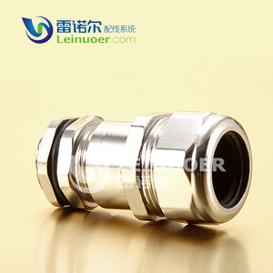 Metal connector PG/NPT thread waterproof junction box cable gland