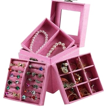 Portable Luxury Jewelry Box Wholesale Cheap Indian Wedding Return Gift -  Buy Wedding Return Gift,Indian Wedding Return Gift,Cheap Wedding Return  Gift