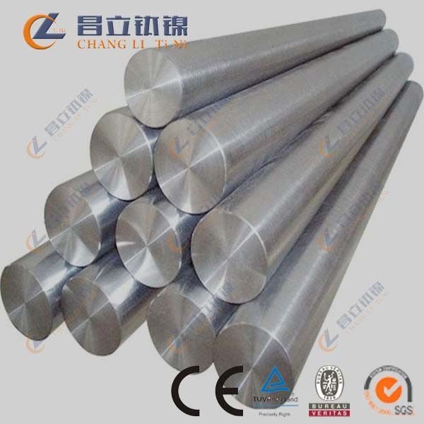 polished astm b348 titanium ti 6al 4v round bar