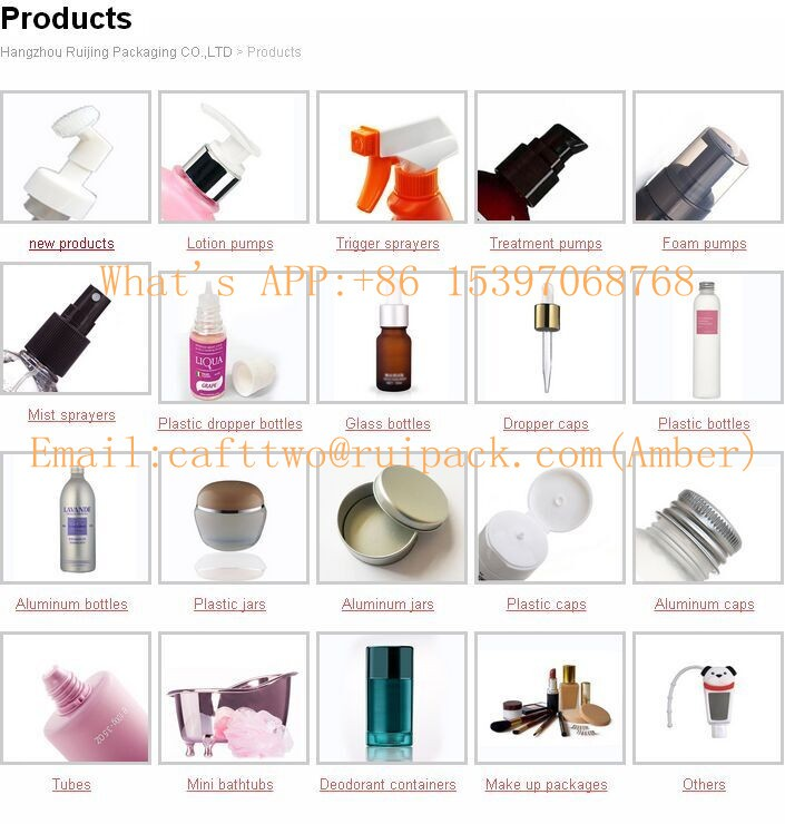 hot sell empty plastic perfume spray bottles/plastic cosmetic lotion bottle