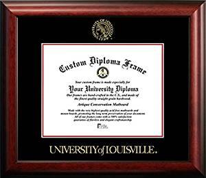 Get Quotations University Of Louisville Graduation Diploma Frame 14 X 17