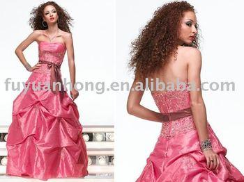 Taffeta Pick Up Skirt Prom Dress Fyh Pm80005 Buy Prom Dress