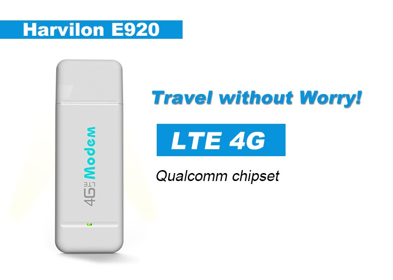 Harvilon 2017 CAT3 4G LTE USB Modem USB Dongle 4G USB etiket