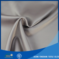 Soft Material 95% Polyester 5% Spandex 50D Shine Yarn Weft Stretch Satin,Pd