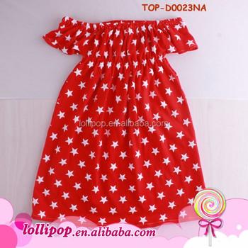 93ba805f60b0 Girl Dress New Baby Frock Design 2017 Summer Off The Shoulder Kids ...