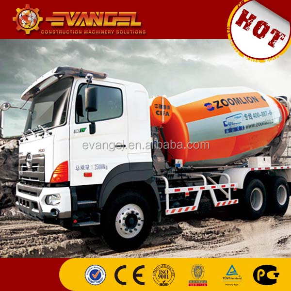 ZOOMLION concrete mixer truck for sale with cheap price