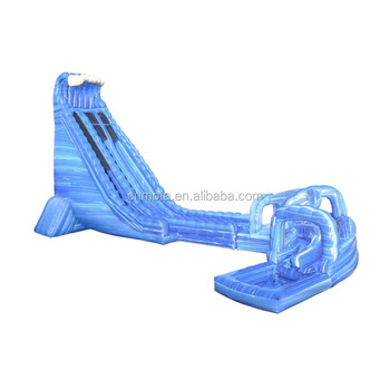 Amazing inflatable roaring river water slide for adults