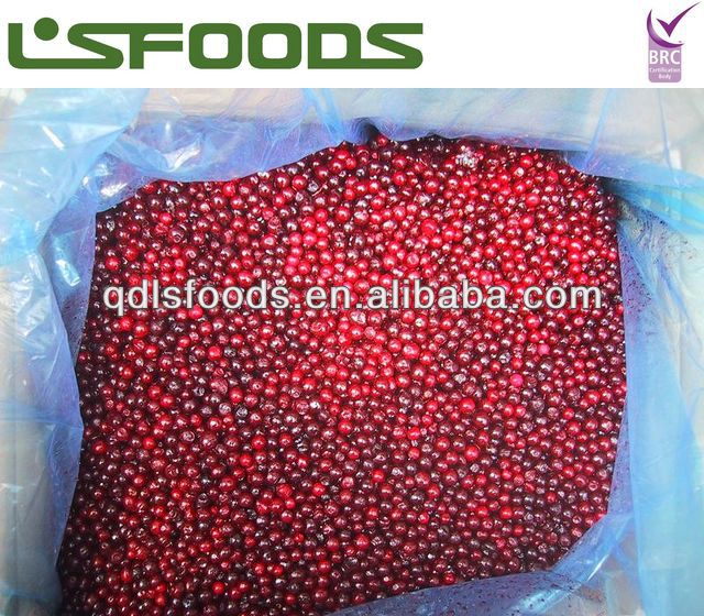 Organic Frozen IQF Lingonberry