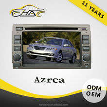 Good performance for hyundai azera touch screen car dvd player gps system and 4 GB SD card