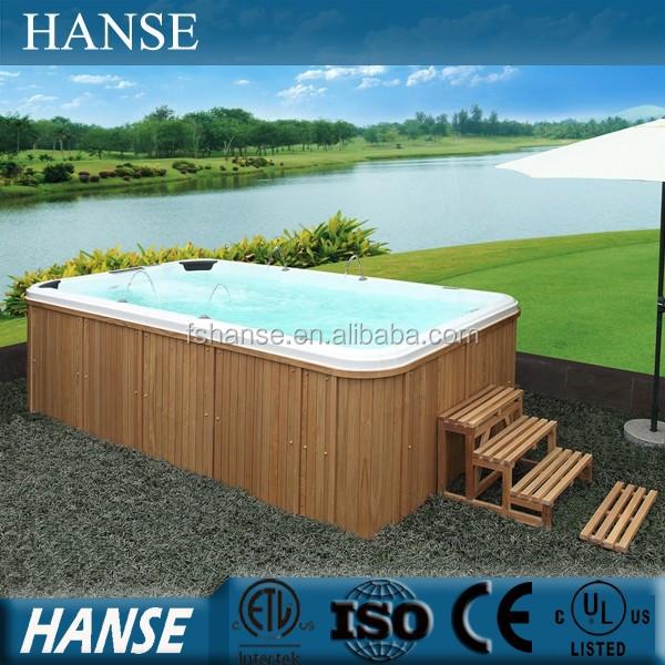 Hs-s04 China Aquatic Swim Spa Bath Sex Massage Swimming Pool