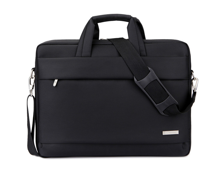 Top Selling Fashion Design Black Handbag Single-Shoulder Computer Bag Black Handbags Business Breifcase Unisex