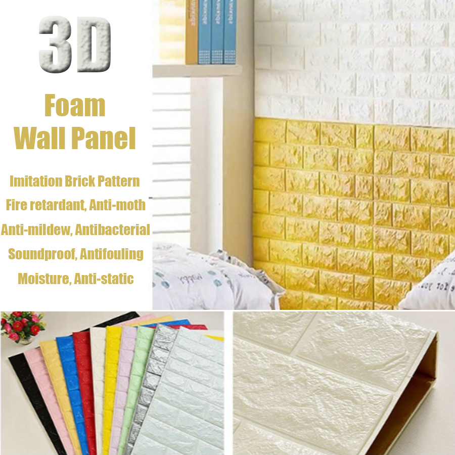 3d Pe Foam Wall Sticker Panels, 3d Pe Foam Wall Sticker Panels ...