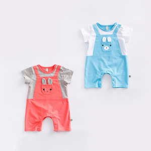 2017 New Product Newborn Baby Boy Dress Clothes Romper From China Supplier
