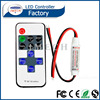 2016 new selling 10 key mini RF Remote wifi led strip controller in dimmers