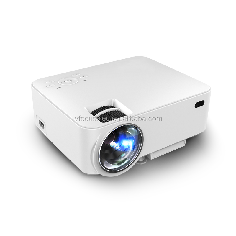 Manual Focus mini led projector uc18 mini projector with UNIC OS