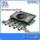Laptop Graphic Card for 4 Channels Video Input SDI Capture Pro 1080p 60fps With High Quality