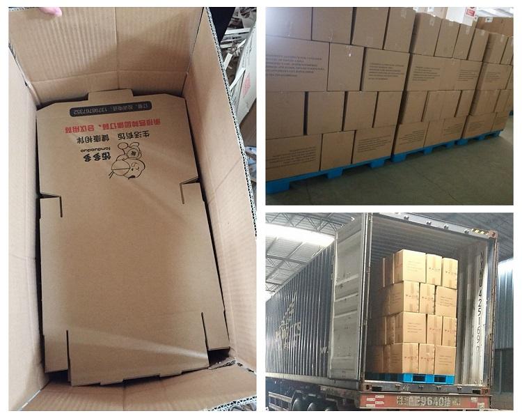 carton corrugated paper pizza delivery box