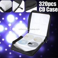 New 320 Capacity CD DVD Holder Carry Bag / CD DVD case / CD storage bag