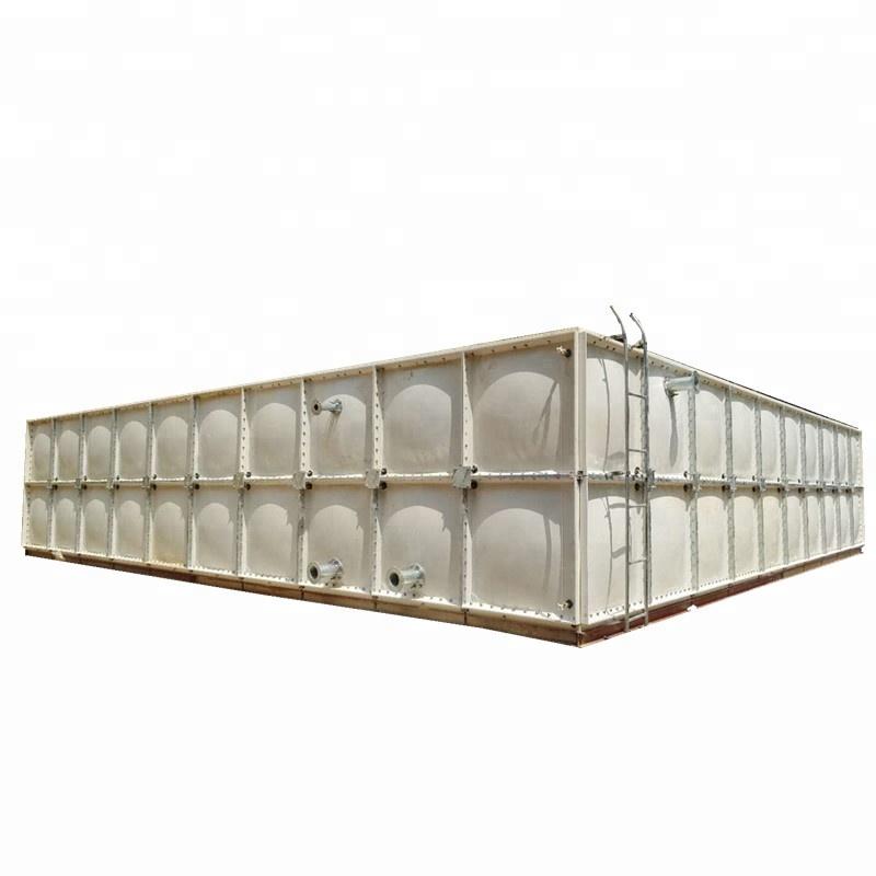 stoccaggio di liquidi sfusi frp grp serbatoio di acqua per sistema di trattamento delle acque