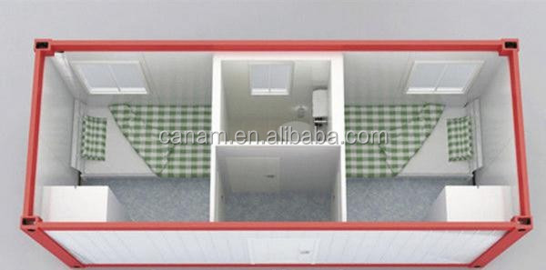 two person modular house with toilet