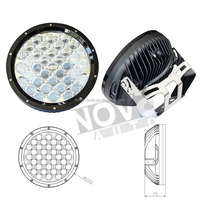 111w 9inch Round Combo Beam Kingray Chips Car Led Driving Lights