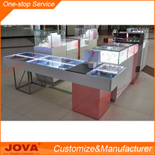 Retail shop interior design jewelry display case antique display cabinet showcase
