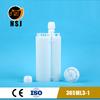 385ml 3:1 empty silicone sealant cartridge for led bulb manufacturing machine