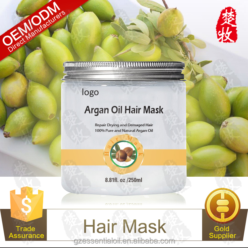Natural Argan Oil Hair Mask Repairs Drying And Damaged Protective Hair
