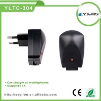 Factory priceportable 5v 1a wall charger for phone shuffle