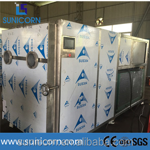 10sqm 100kg capacity prefabricated industrial sheds freeze dryer, vacuum freeze dryer