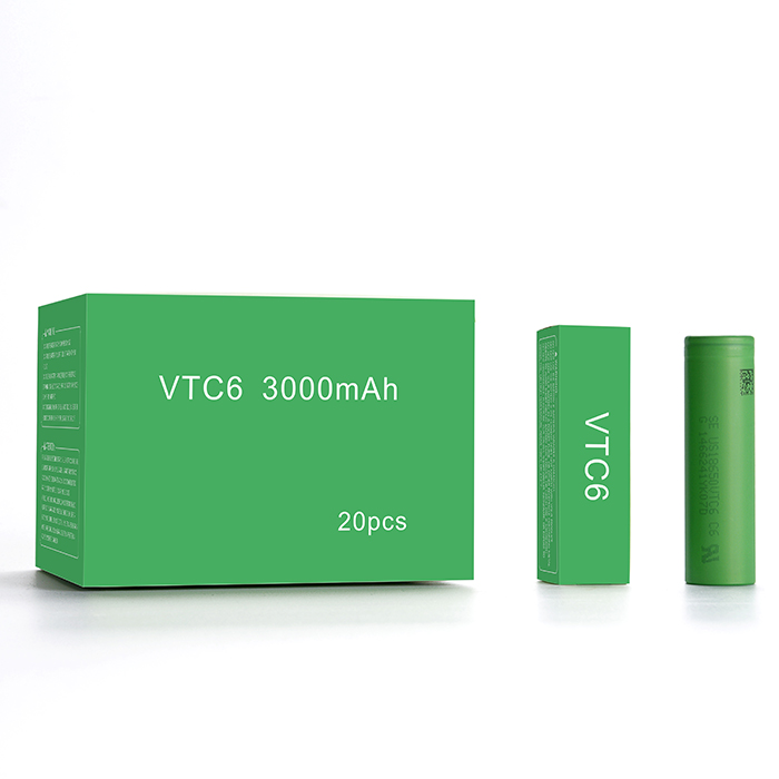 Ecig Japan Made 18650 batteries us18650vtc6 3000mah 3.7v 4.2v 18650 vtc6