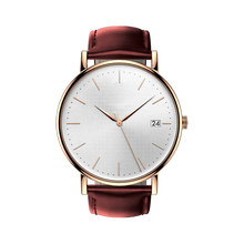 Genuine Leather Watch Stainless Steel Baru <span class=keywords><strong>Pria</strong></span>