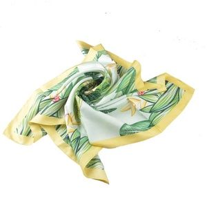 Custom Printed Scarves With Three color For women Spring