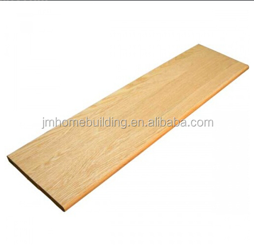 Pine Stair Step Tread Wood With No Slide Nose For Stair Case