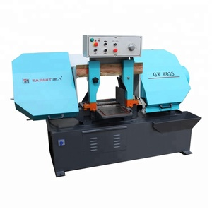 TARWIT export to South Africa high quality China factory price manual feeding band saw machine for cutting metal