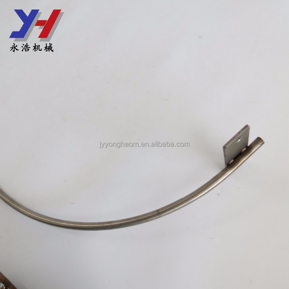 High quality custom direct sale stainless steel curved shower rod for bathroom supplies
